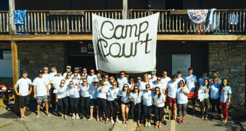 Camp Court group photo